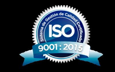 Certificat ISO 9001-2015